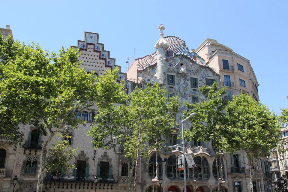 barcelona casa batllo 1 - Gaudi in Barcelona - Architektur zum Verlieben