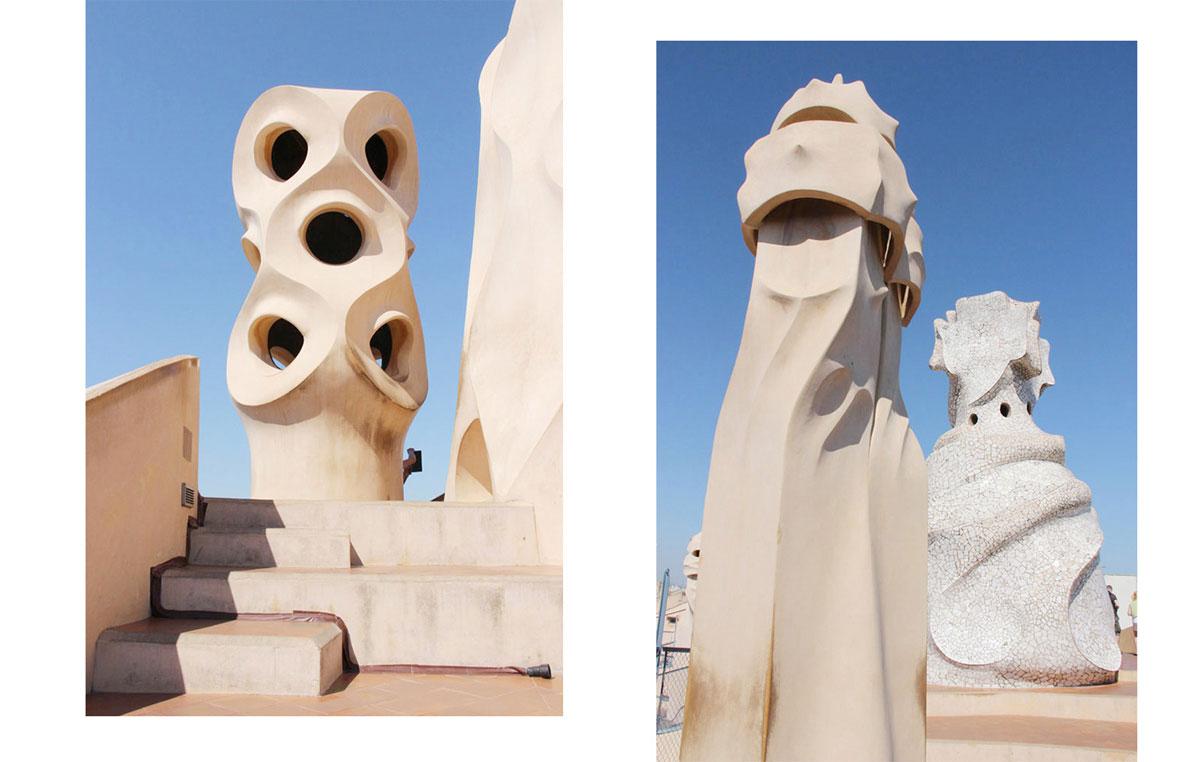 barcelona casa milo - Gaudi in Barcelona - Architektur zum Verlieben