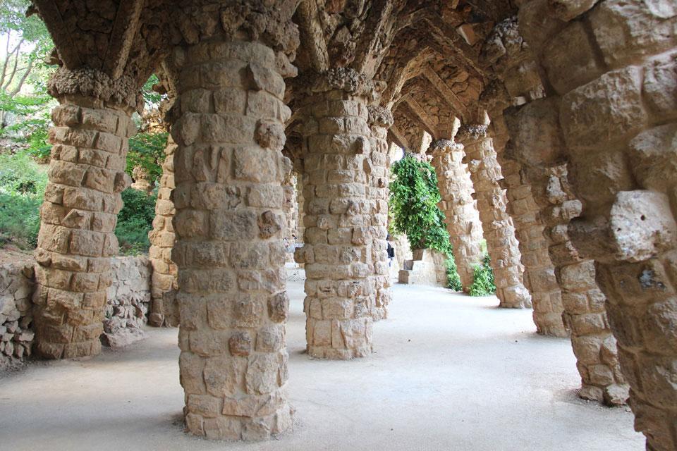 barcelona parkguell 4 - Gaudi in Barcelona - Architektur zum Verlieben
