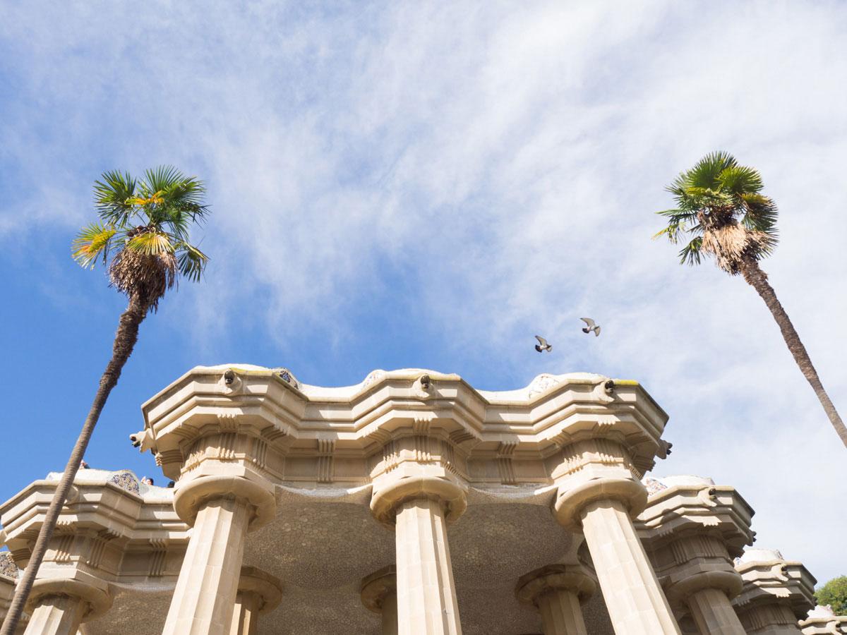 barcelona parkguell 5 - Gaudi in Barcelona - Architektur zum Verlieben