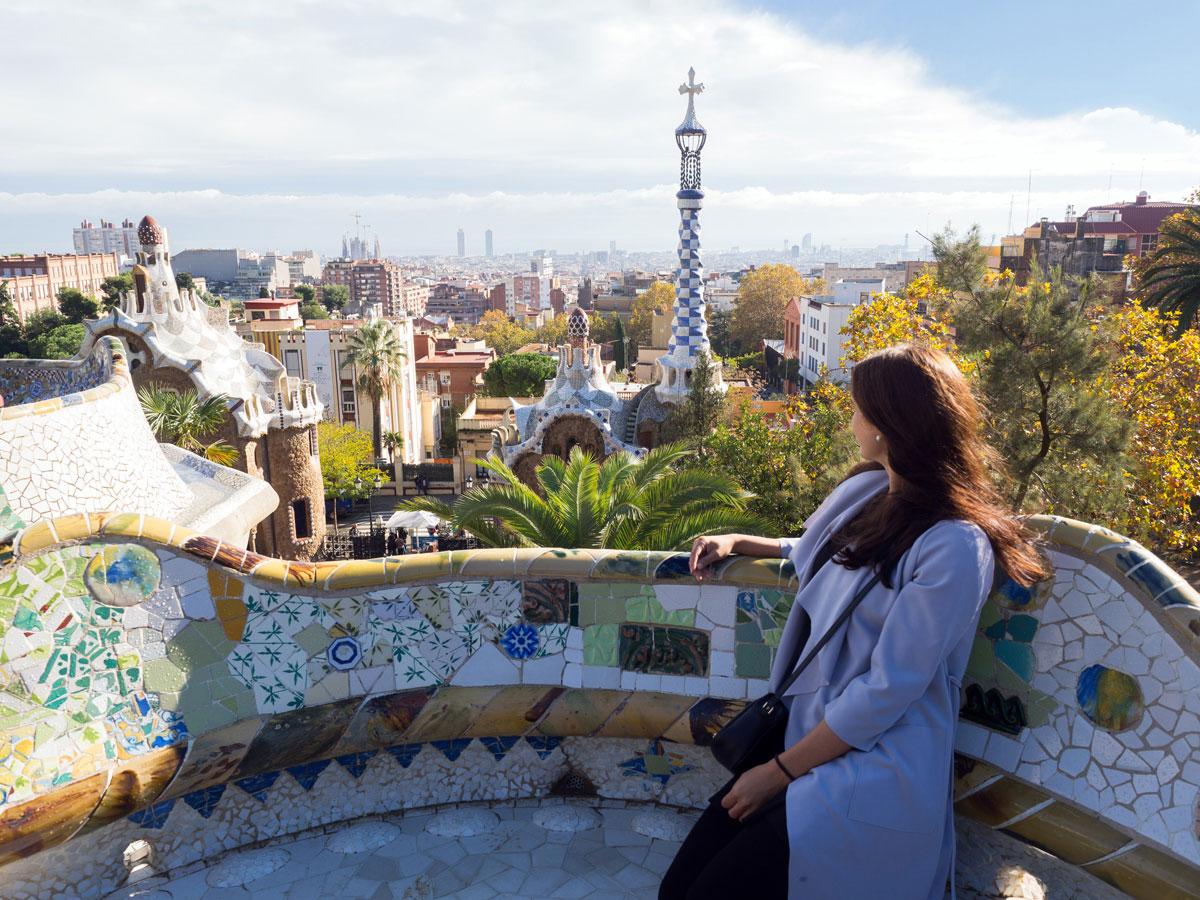 barcelona parkguell 6 - Gaudi in Barcelona - Architektur zum Verlieben