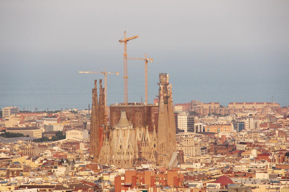 barcelona parkguell aussicht 2 - Gaudi in Barcelona - Architektur zum Verlieben