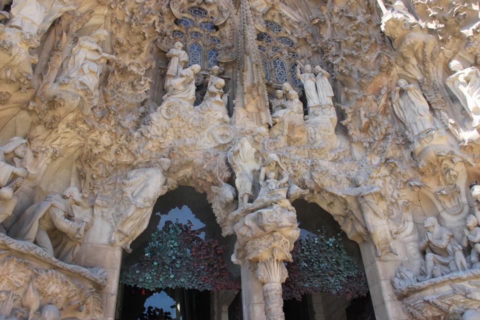 barcelona sagrada familia 1 - Gaudi in Barcelona - Architektur zum Verlieben