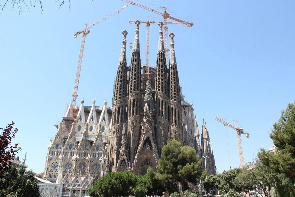 barcelona sagrada familia 2 - Gaudi in Barcelona - Architektur zum Verlieben