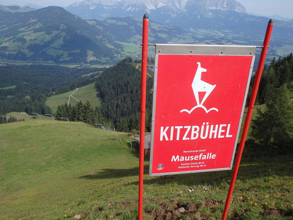 Mausefalle Streif Kitzbuhel Sommer