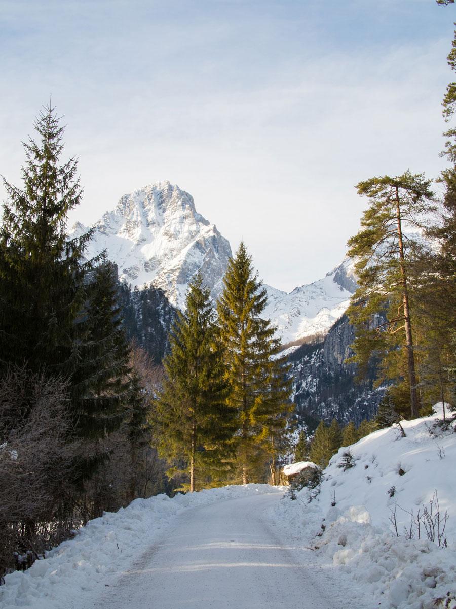 Hiking Schiederweiher Hinterstoder Winter