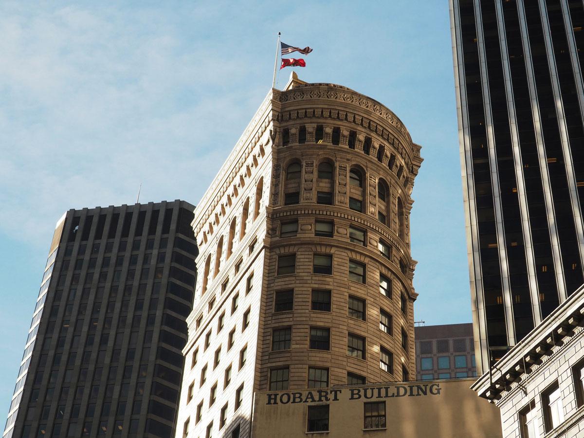 San Francisco Gebäude in Downtown