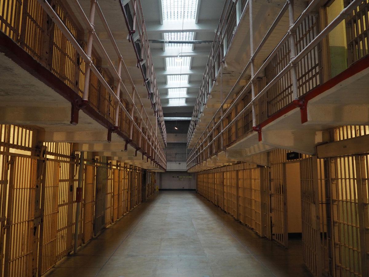 Alcatraz Gefängnis in San Francisco