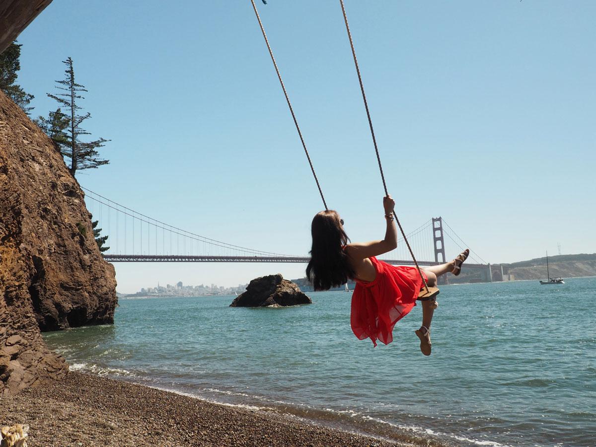 Kirby Cove San Francisco Schaukel