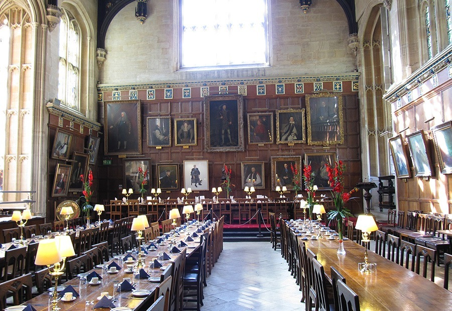 christ church college oxford england