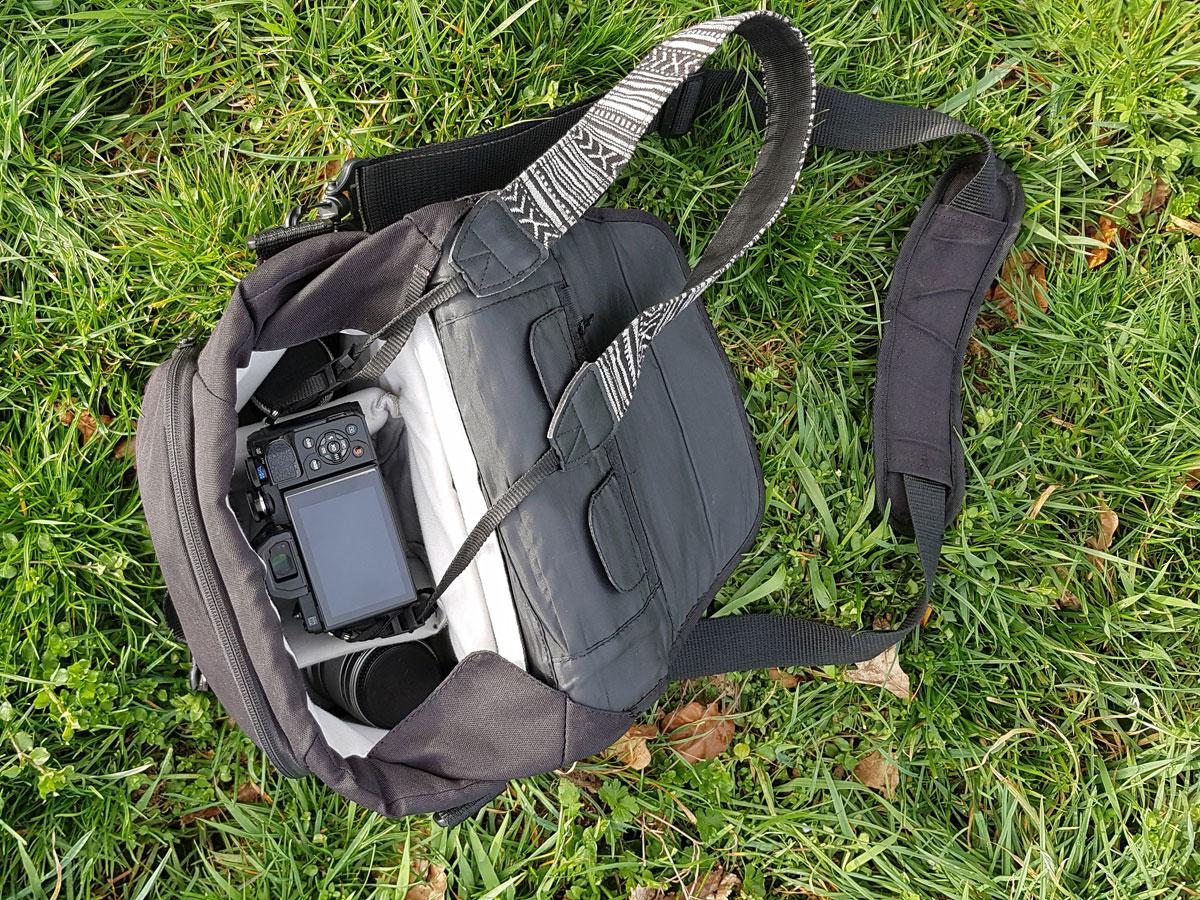 Schultertasche für Fotografie