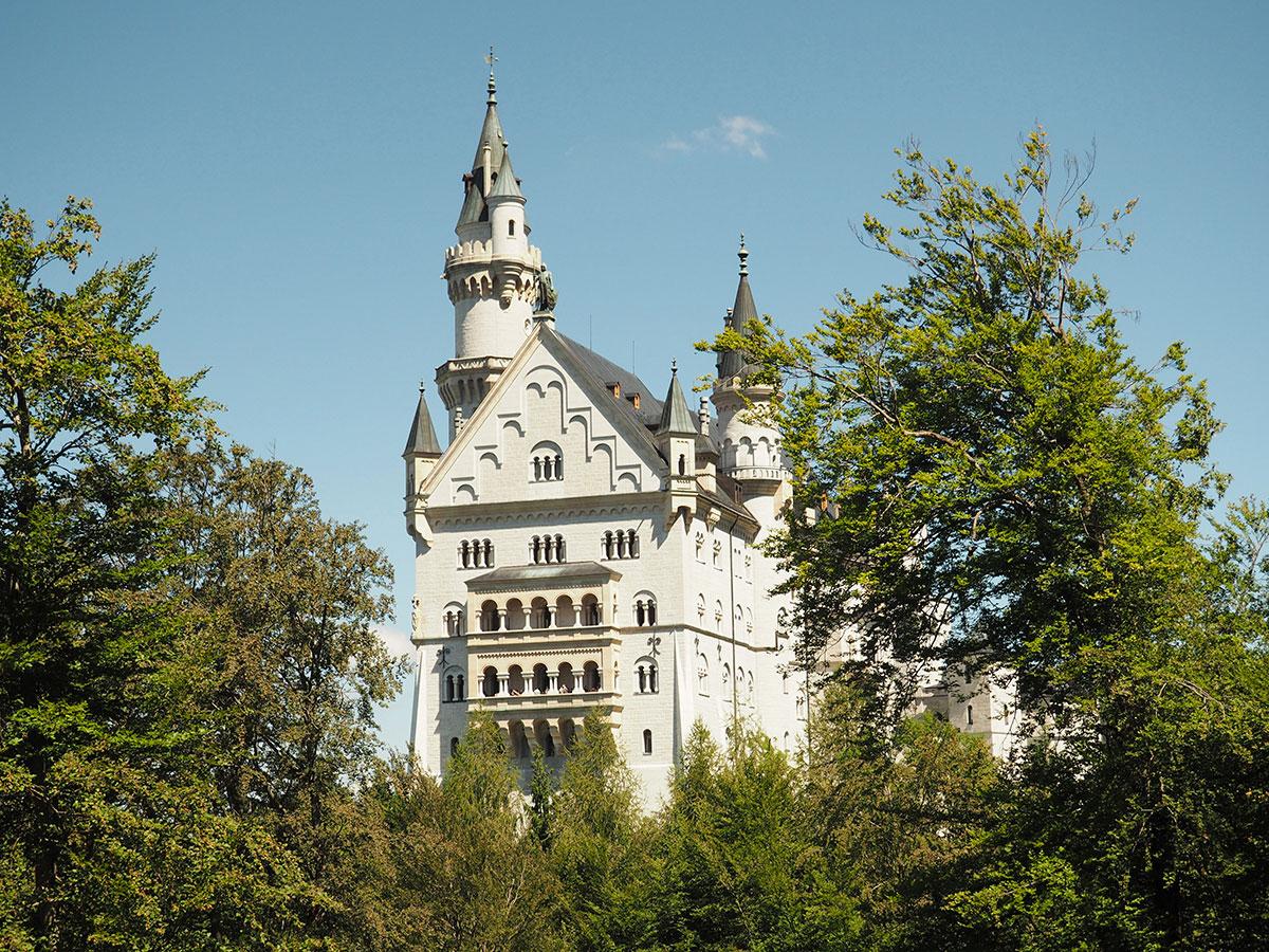 Schloss Neuschwanstein von außen