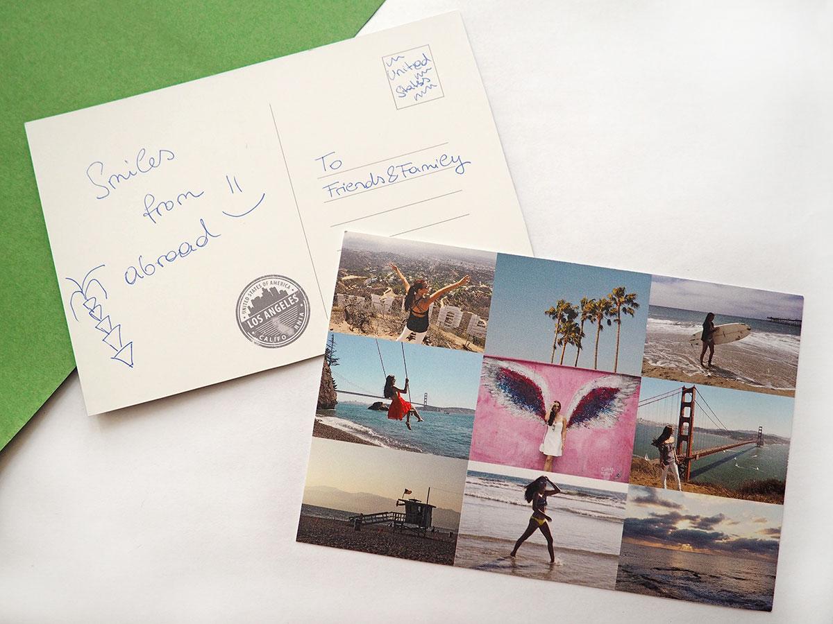 postcarte selfmade doityourself