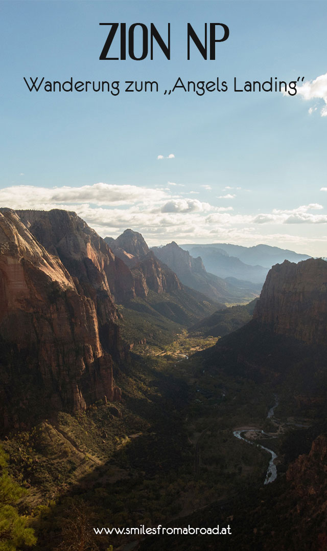 angelslanding - Angels Landing im Zion Nationalpark