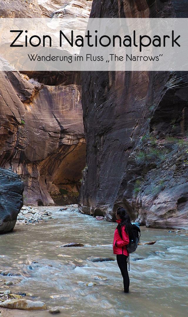 The Narrows Zion Nationalpark