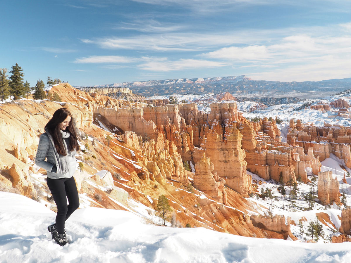 Best All Weather Tires >> Bryce Canyon in Winter having snow - when it can't get more beautiful - smilesfromabroad