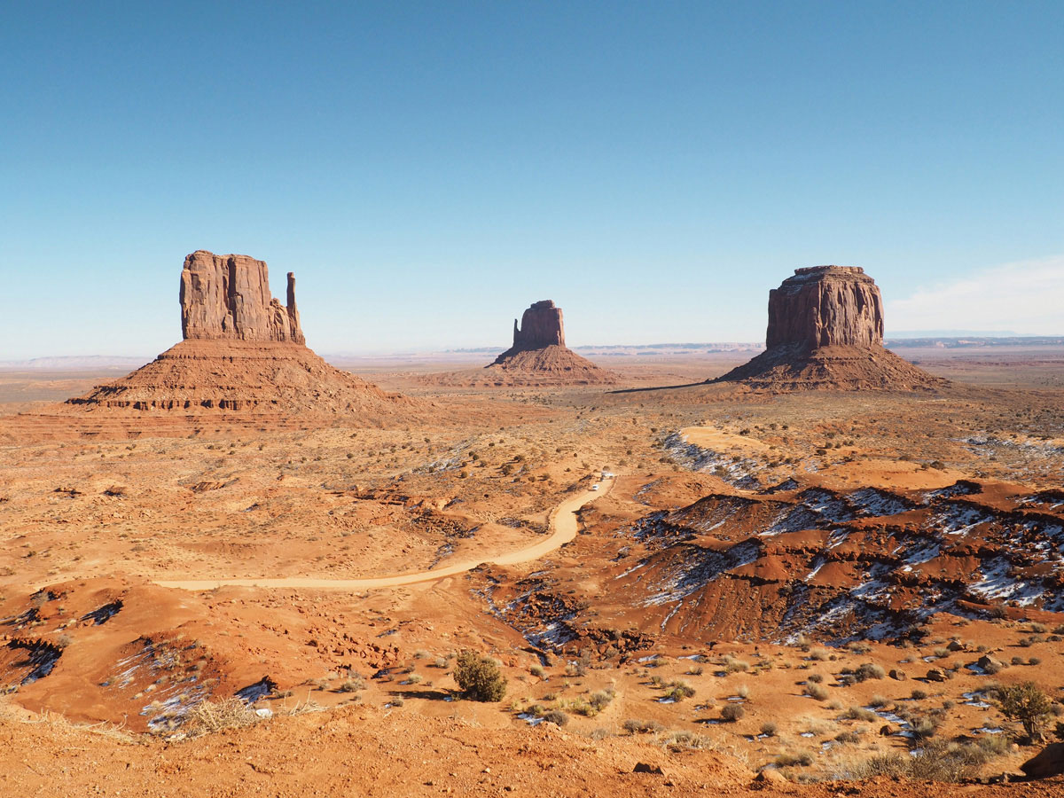Roadtrip Westküste Amerika Monument Valley