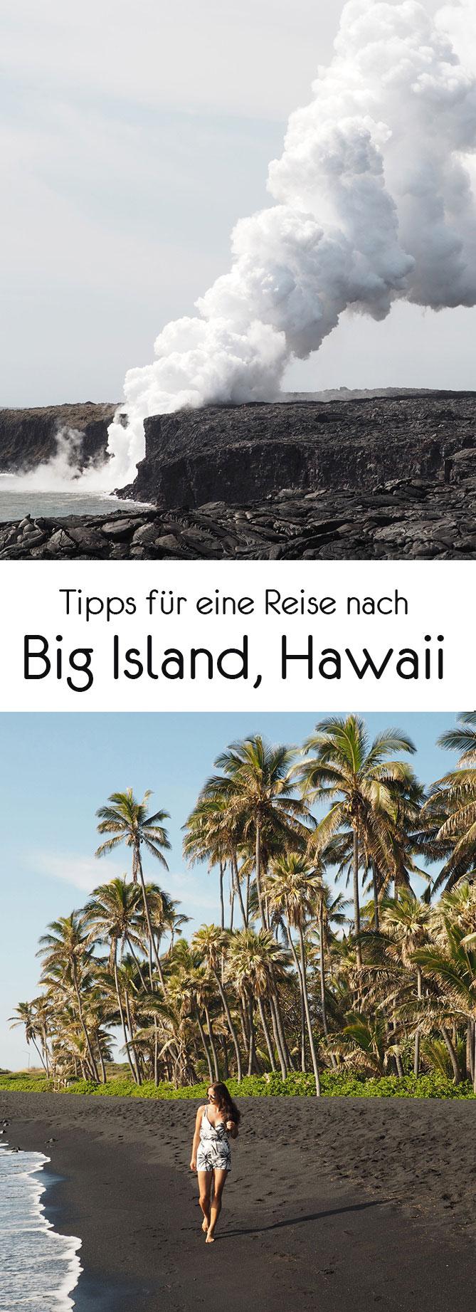 bigisland pinterest2 - Big Island - Ein aktiver Vulkan, Lava und viele Delfine