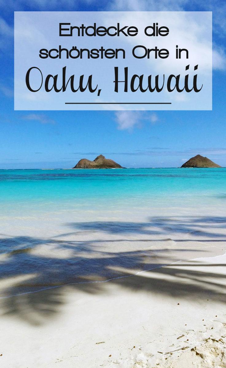 oahu pinterest - Oahu - traumhafte Sandstrände und die Großstadt Honolulu
