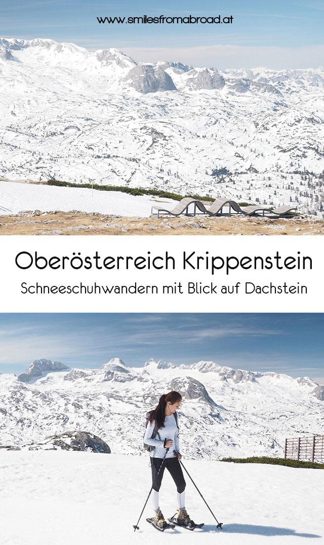 Krippenstein Schneeschuhwandern Pinterest