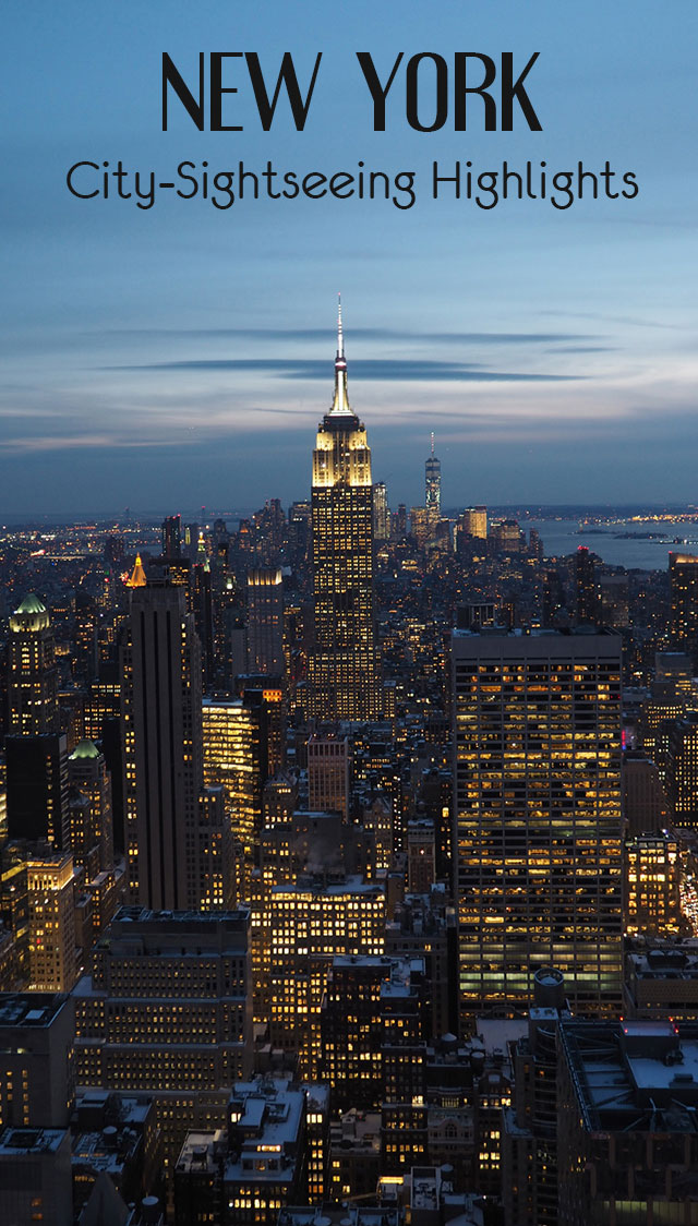 newyork pinterest - New York City Sightseeing Highlights