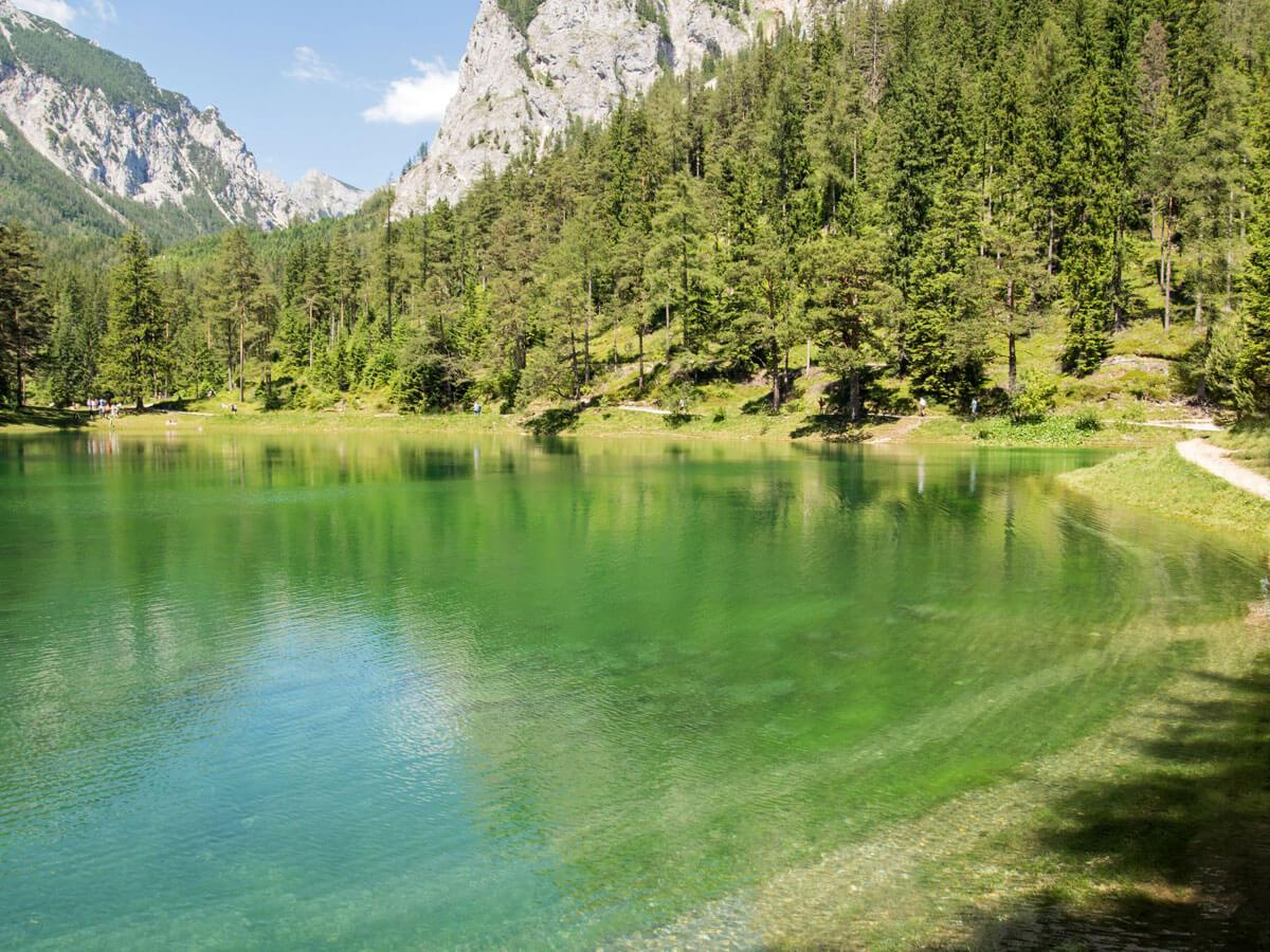Ausflug Grüner See Österreich Steiermark Tragöß