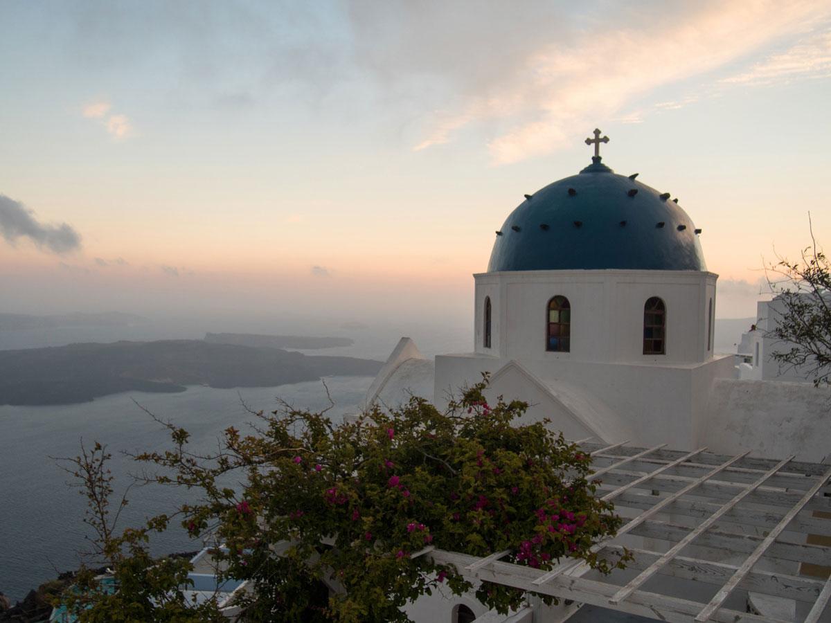 sonnenuntergang sunset santorin imerovigli 4 - Meine 5 Lieblings Fotospots auf Reisen - Blogparade