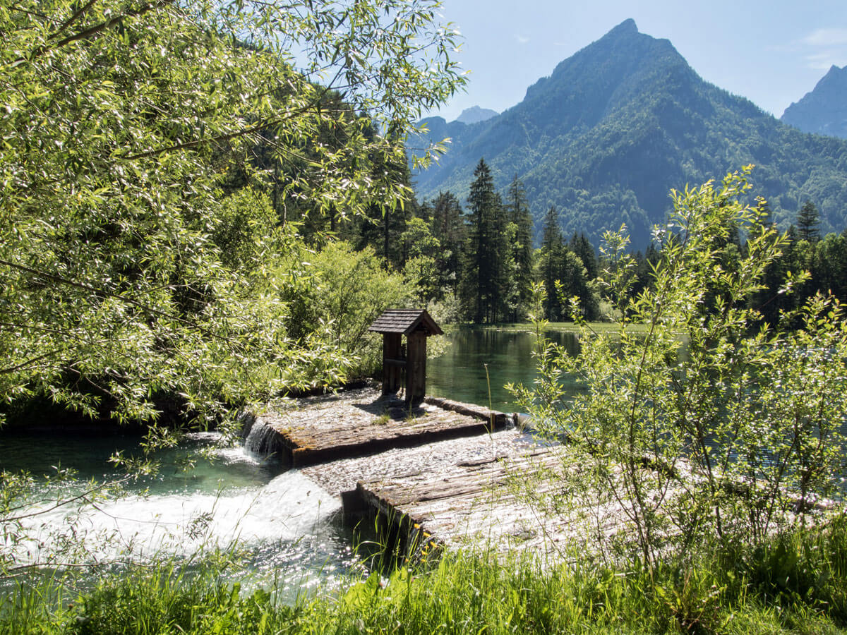 Hiking Schiederweiher Hinterstoder Upper Austria