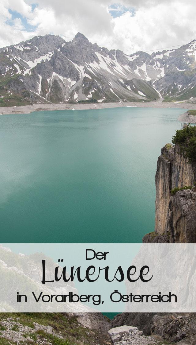 luenersee pinterest2 - Lünersee im Brandnertal in Vorarlberg, Österreich