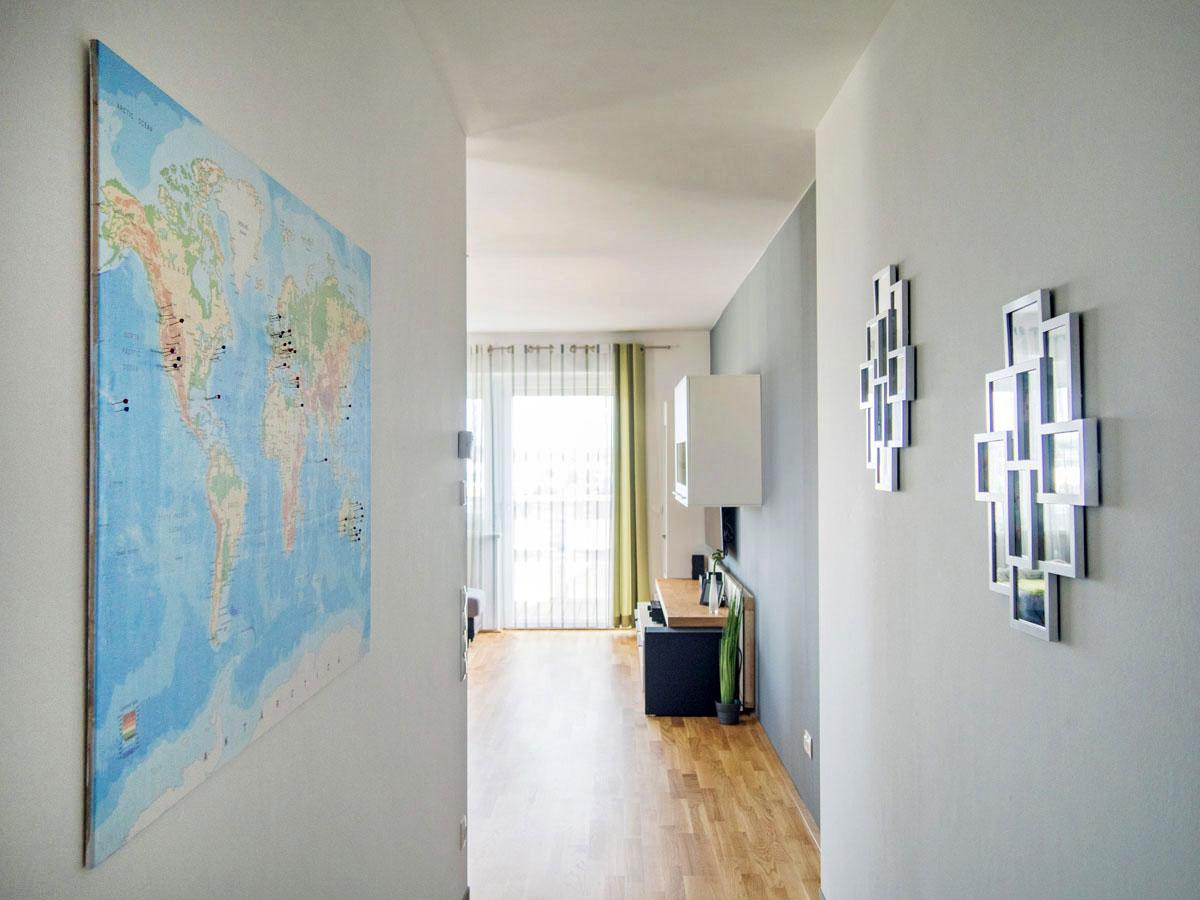 weltkarten at pinnwand weltkarte 8 1 - Dekoidee: Reise-Weltkarte zum Pinnen