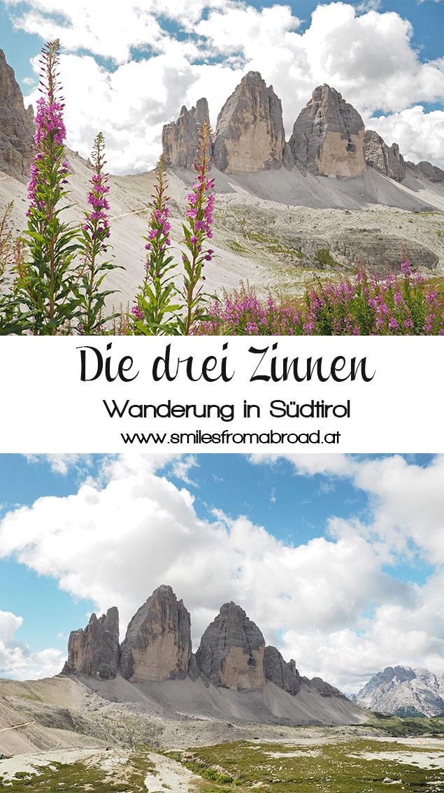 dreizinnen - Wanderung um die drei Zinnen in den Dolomiten, Südtirol