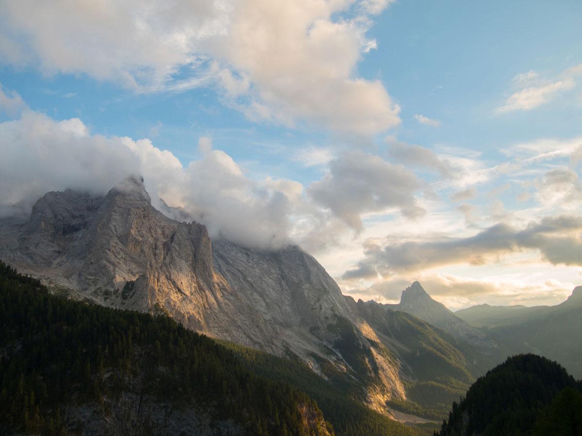 Sehenswertes Dolomiten Marmolada