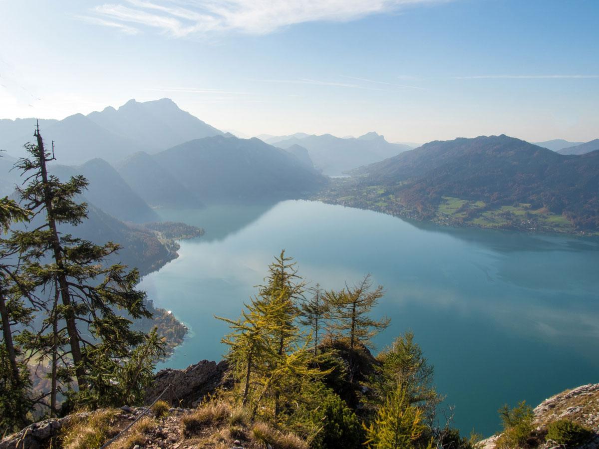 mahdlgupf klettersteig 17 - Attersee Klettersteig auf den Mahdlgupf - Impressionen