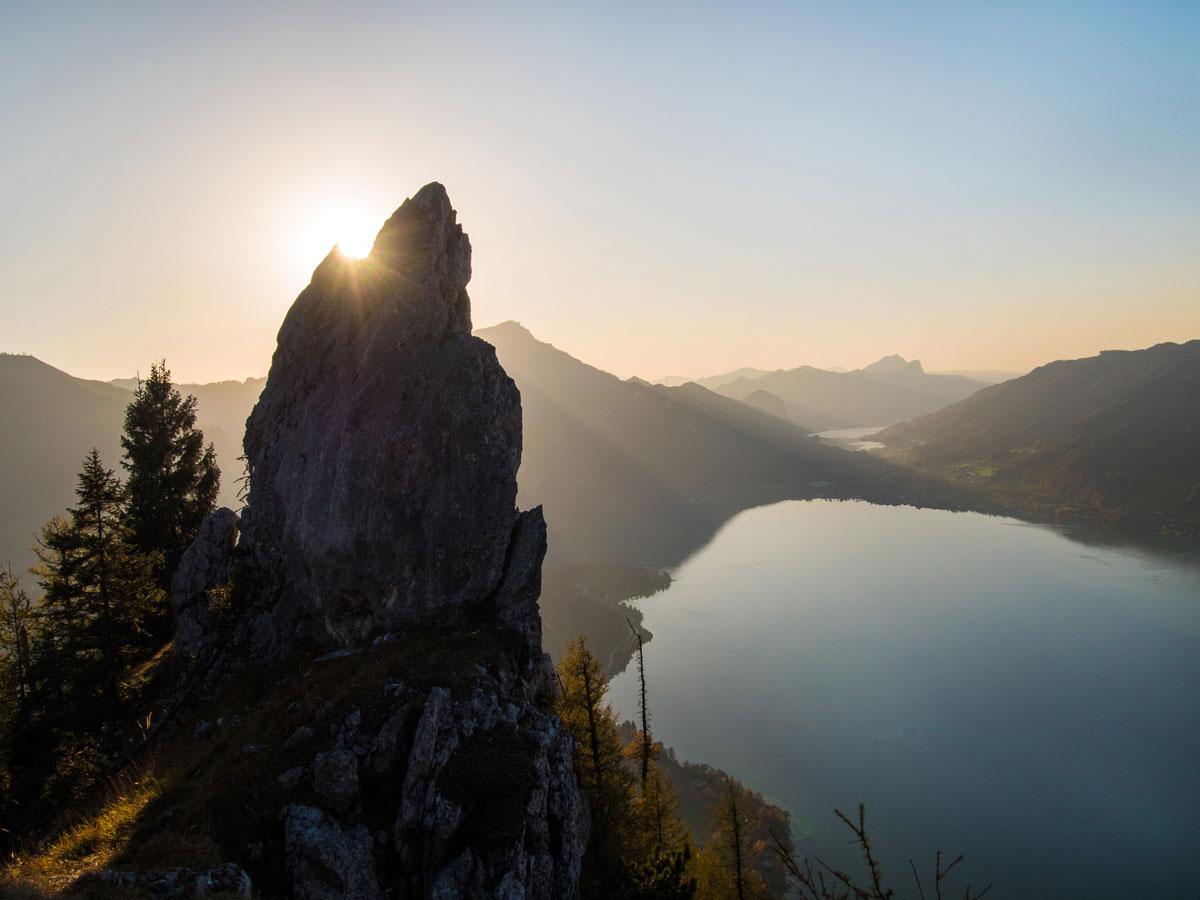 mahdlgupf klettersteig 18 - Attersee Klettersteig auf den Mahdlgupf - Impressionen