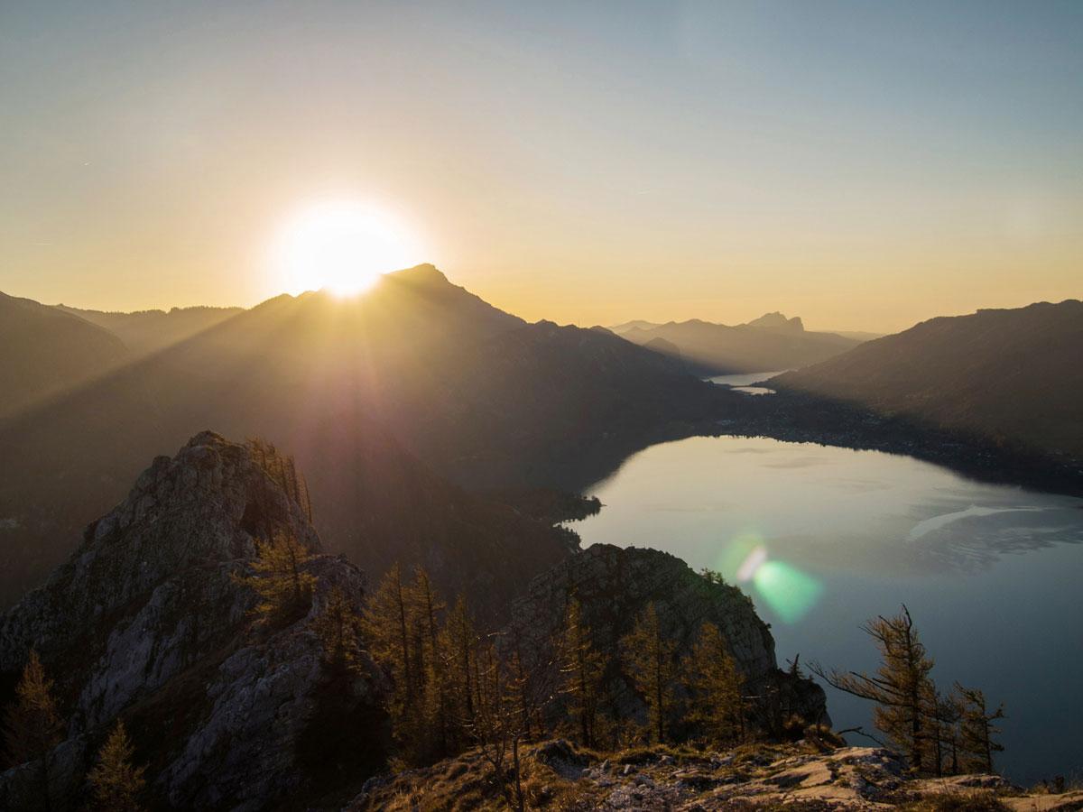 mahdlgupf klettersteig 19 - Attersee Klettersteig auf den Mahdlgupf - Impressionen