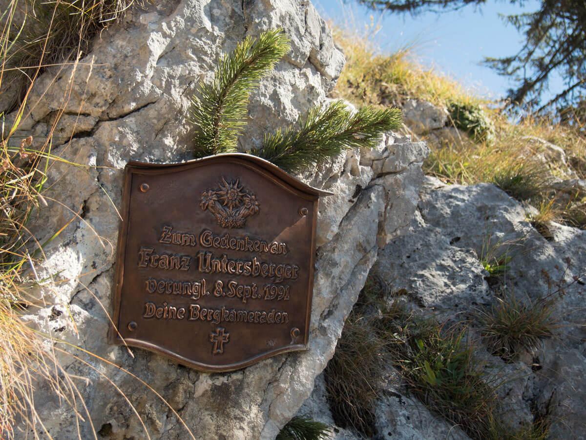 Gedenktafel Traunstein