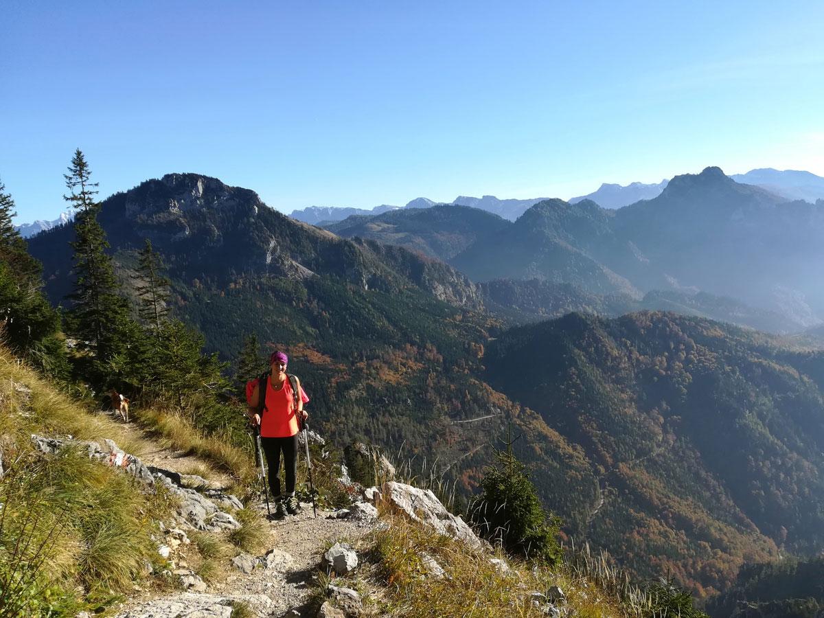 Wandern auf den Traunstein
