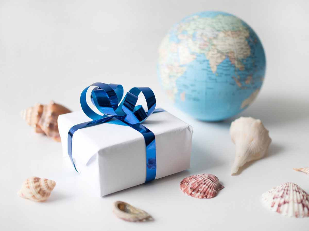 Geschenk fur reise nach england