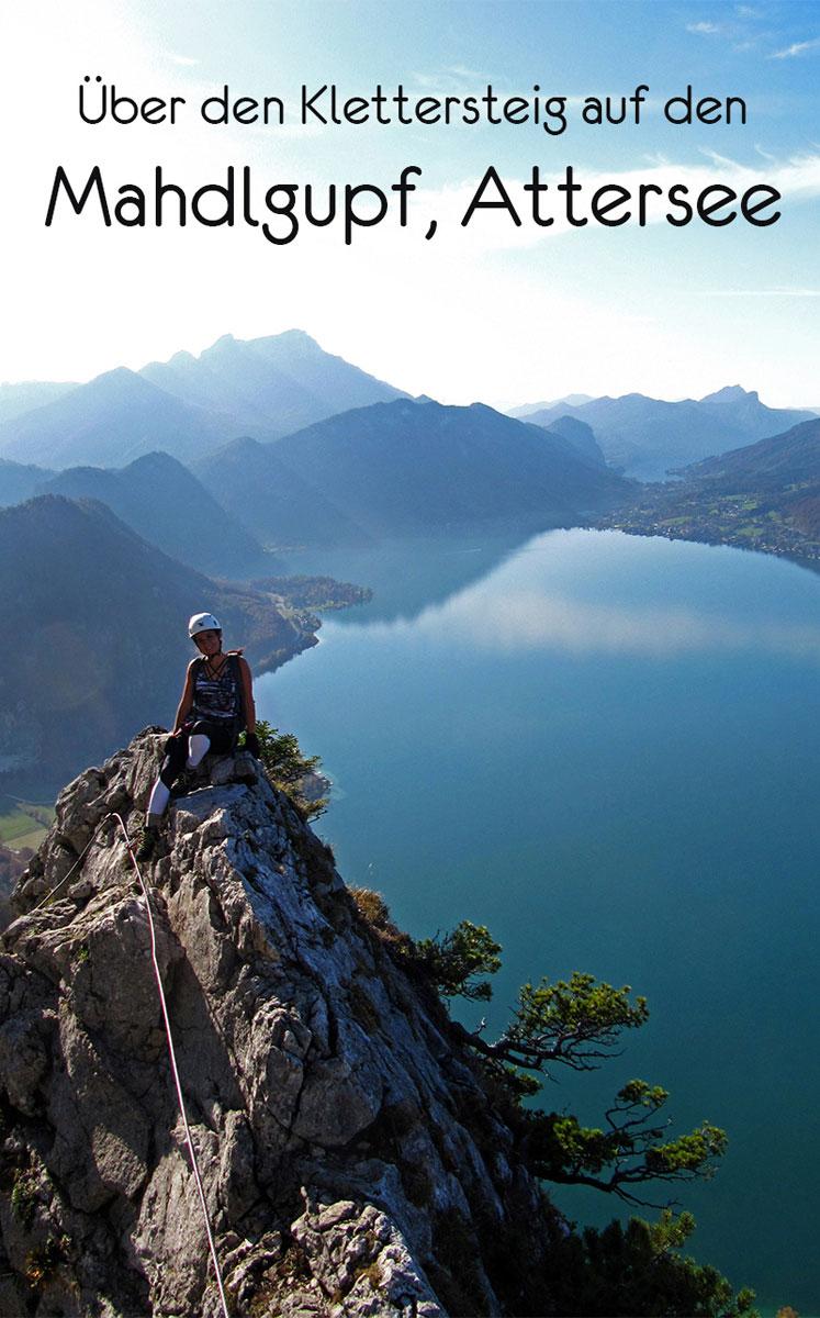 mahdlgupf pinterest - Attersee Klettersteig auf den Mahdlgupf - Impressionen