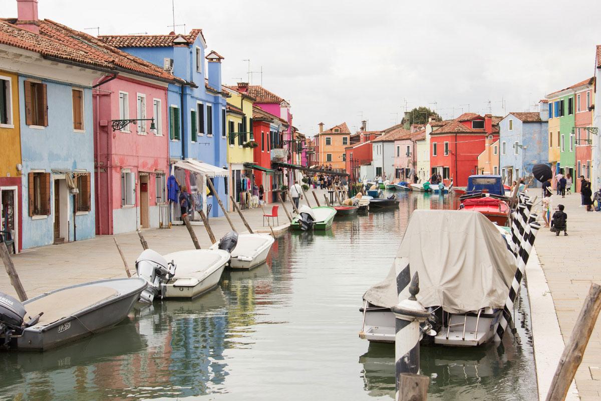 venedig burano 1 - Burano und Murano - Sehenswertes in Venedig