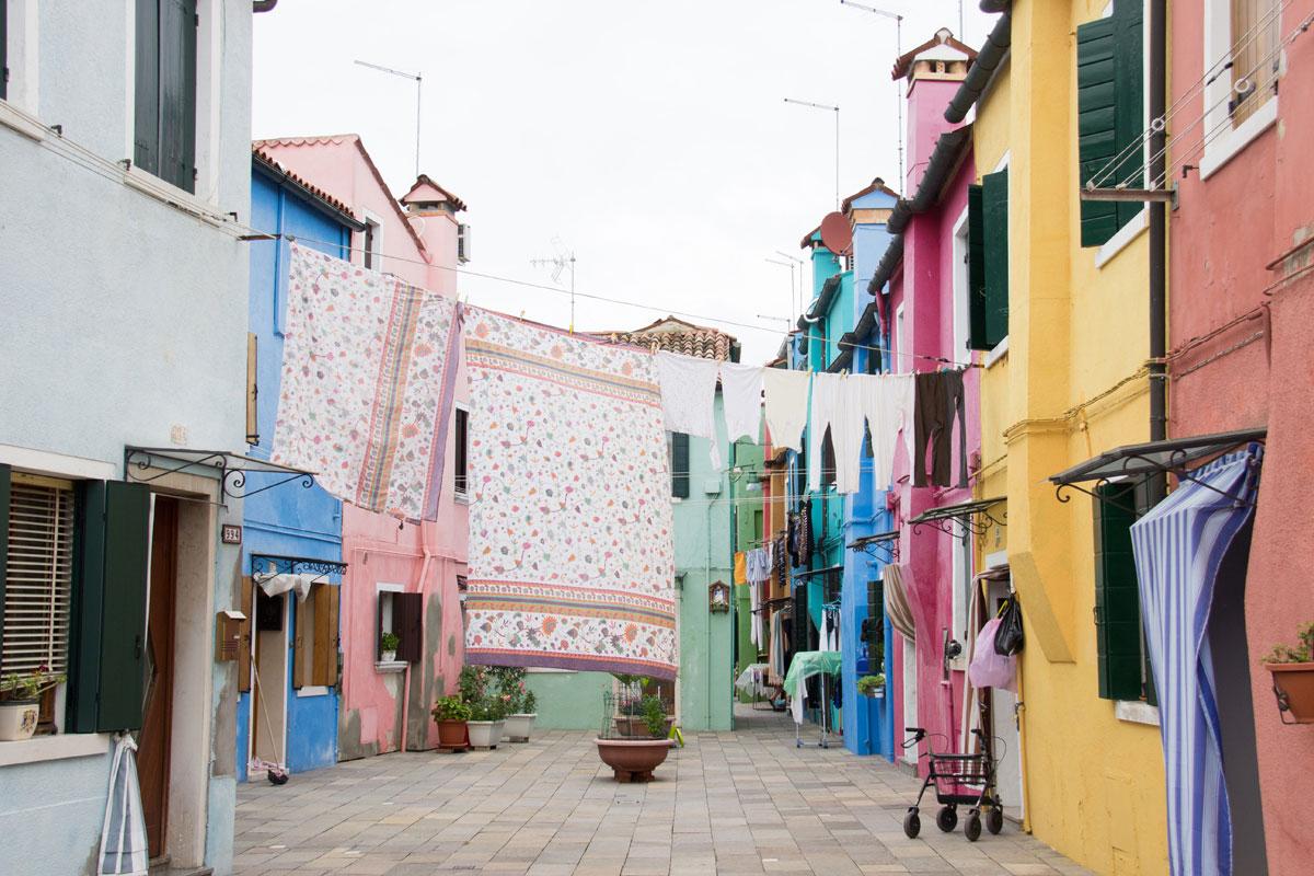 venedig burano 3 - Burano und Murano - Sehenswertes in Venedig