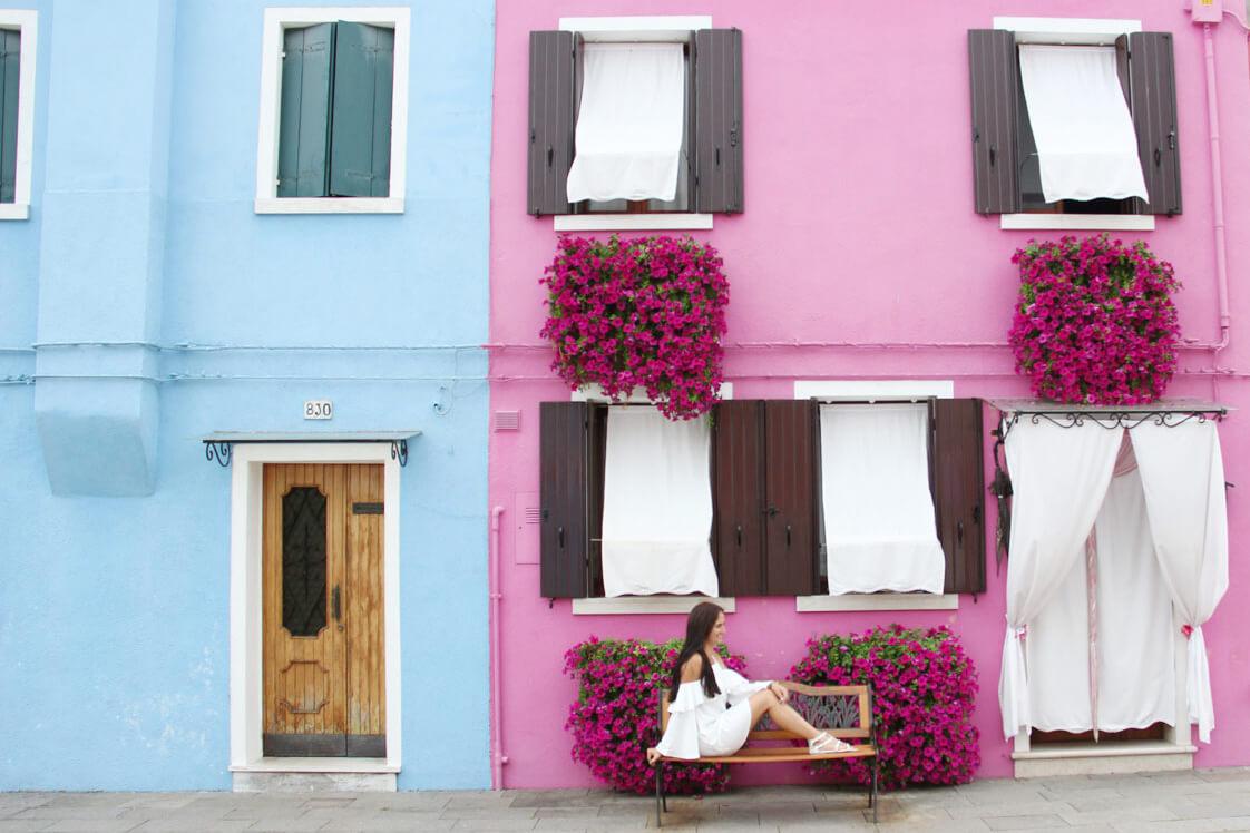 venedig burano 8 - Den Norden Italiens mit dem Auto entdecken – Roadtrip Venedig, Florenz, Lucca, Cinque Terre und Mailand