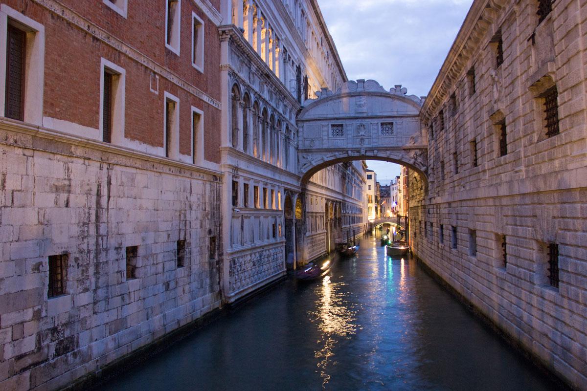 venedig seufzerbruecke - Venedig - Die Lagunenstadt entdecken