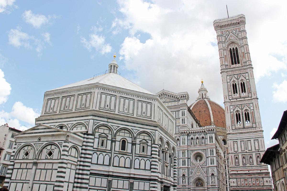 florenz dom 1 - Florenz - Die Hauptstadt der Toskana zu Fuß erkunden