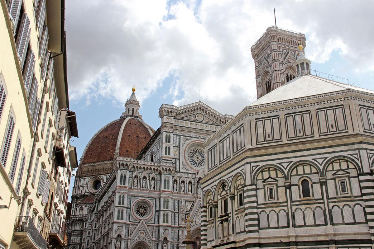 florenz dom 2 - Florenz - Die Hauptstadt der Toskana zu Fuß erkunden