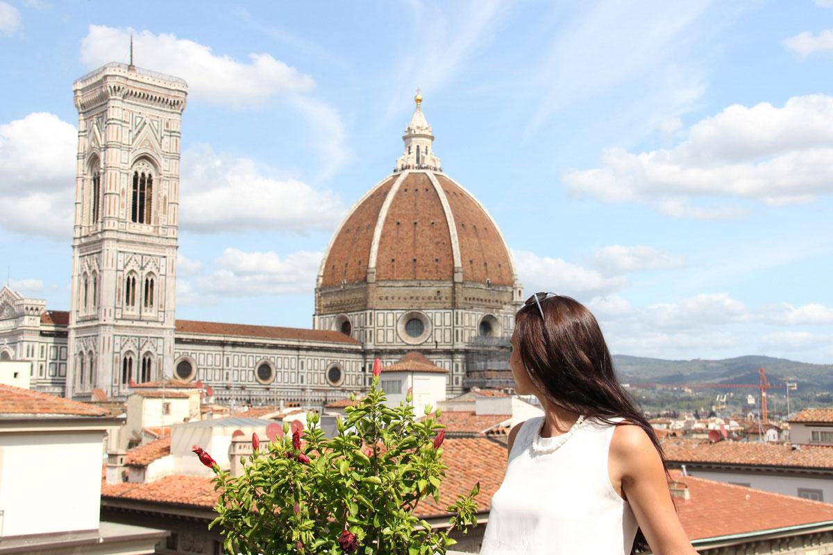 florenz rooftopbar - Florenz - Die Hauptstadt der Toskana zu Fuß erkunden