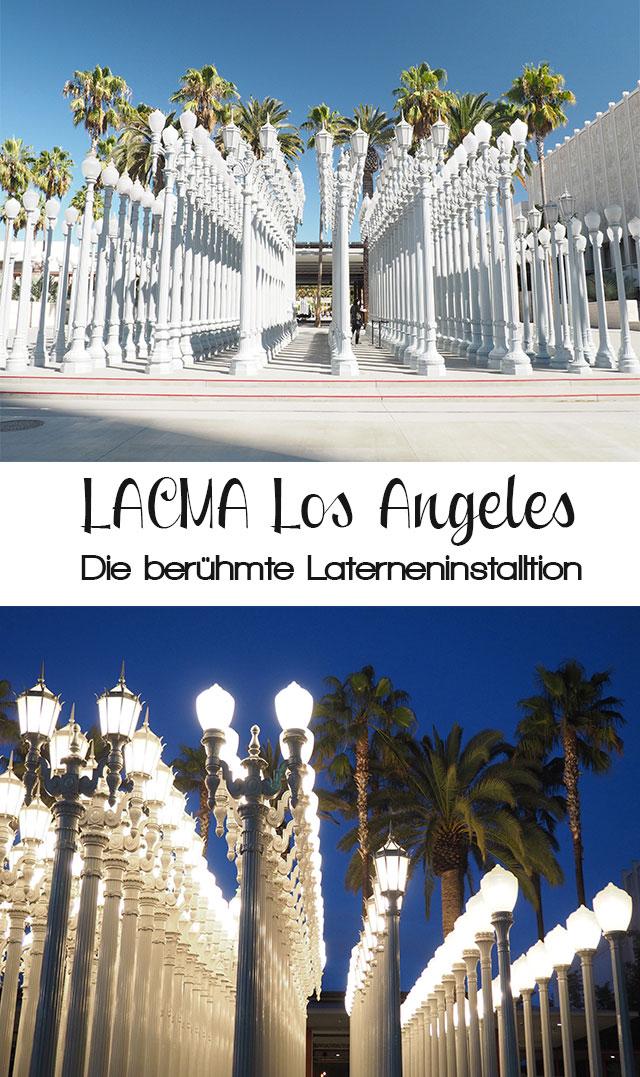 lacma - (Deutsch) Die Laterninstallation beim LACMA – Los Angeles County Museum of Art