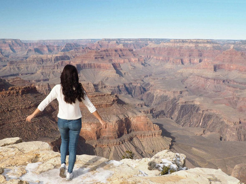 grand canyon winter - Immer im Urlaub? Wie man am besten die Zeit für Reisen plant