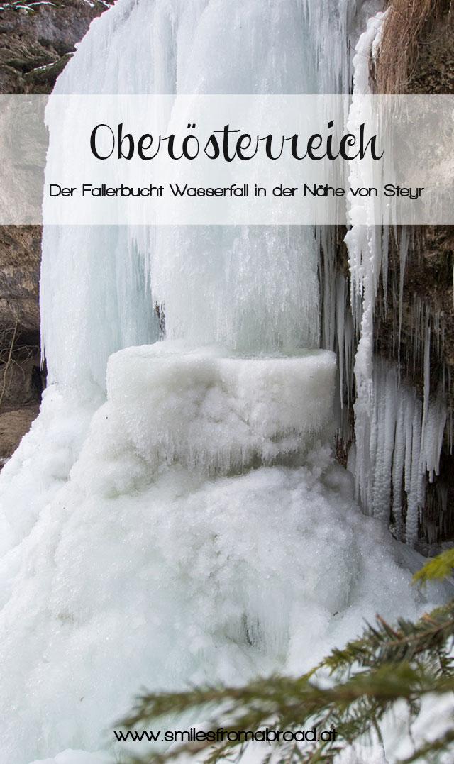 fallerbucht2 - Der Fallerbucht Wasserfall in Oberösterreich im Winter - eine bizarre Eiswelt