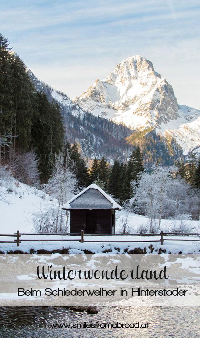 schiederweiher1 - Ausflug zum Schiederweiher in Hinterstoder in Oberösterreich